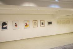Entree-Hauptraum, Ausstellungsansicht, Foto: 15.03.2019