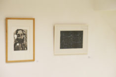 Entree-Hauptraum, Ausstellungsansicht, Frank Merten, Kopf, und E. Hartwig, GROSSEREGATTA III, Foto: 15.03.2019