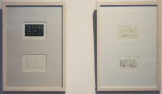 E. Hartwig, SHIPS I und SHIPS-S/W sowie VO und o.T., Radierungen