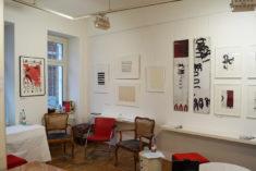 Blick in den Ausstellungsraum, Galerie Sued, Leipzig, 17.09.2021