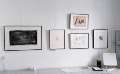 Arbeiten von Matthias Klemm, Carl-Friedrich Claus, Harald Bauer, Leon und C.-F. Claus, Foto: J. Ende