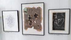 Arbeiten von Tobias D. Albert, David Mozny und Irmgard Horlbeck-Kappler, Foto: J. Ende